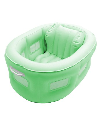 Green 4-in-1 Bathinet