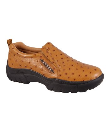 Tan Performance Sport Slip-On Shoe