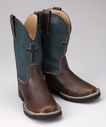 Brown Fancy Riderlite Cowboy Boot