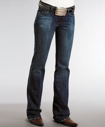 Royal Dark Wash Bootcut Jeans - Women & Plus