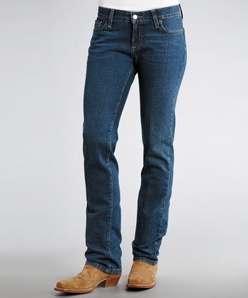 Arrow Straight Leg Jeans - Women