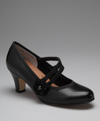 Black Camille Mary Jane Pump