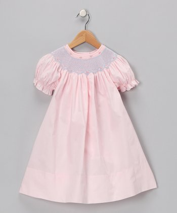 Pink Carla Bishop Dress - Infant, Toddler & Girls