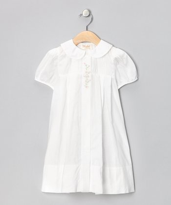 White Emilia Dress & Toddler