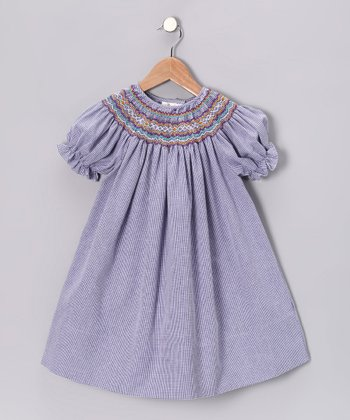 Purple English Bishop Dress - Toddler & Girls