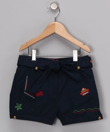 Navy Cummings Shorts
