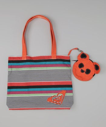 Stripe Piñata Tote & Coin Purse