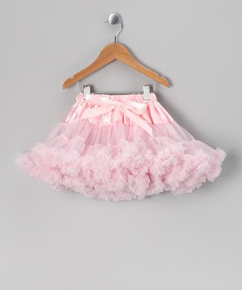 Light Pink Satin Pettiskirt - Toddler