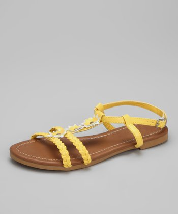 Yellow Lily-K Sandal