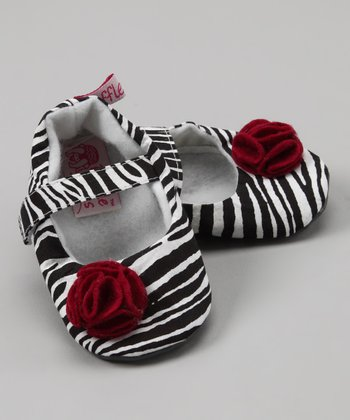 Zebra Rose Mary Jane