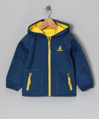 Blue Hooded Jacket - Toddler & Boys