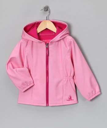 Pink Hooded Jacket - Toddler & Girls