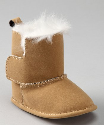 White & Camel Boot