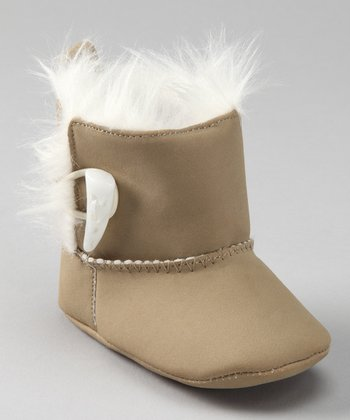 Khaki Pull-On Boot