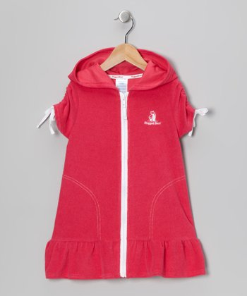Raspberry Terry Cover-Up - Infant