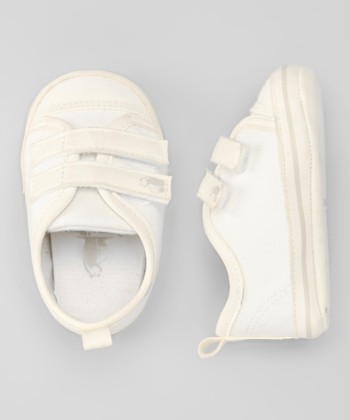 Rugged Bear Off White Double-Strap Sneaker