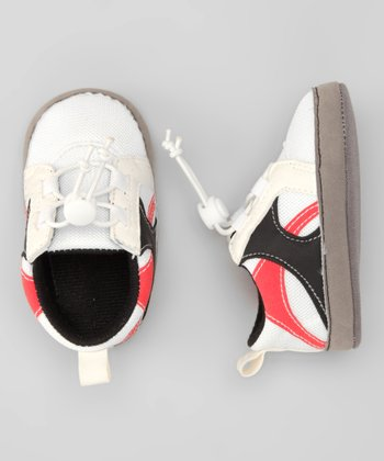 White & Red Sneaker