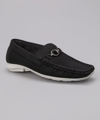 Black Hardware Loafer