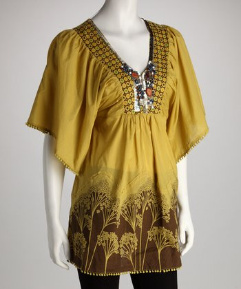Avocado Ornate Tunic