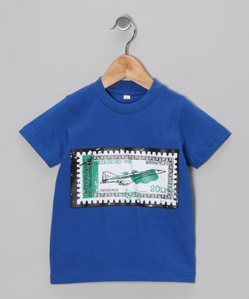 Royal Blue Plane Tee - Infant, Toddler & Boys