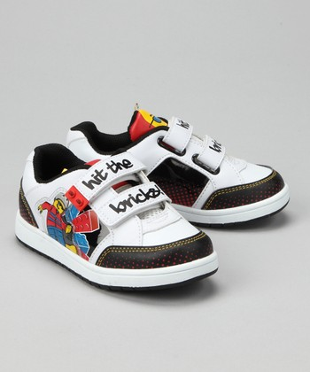 White LEGO 'Hit the Bricks' Sneaker