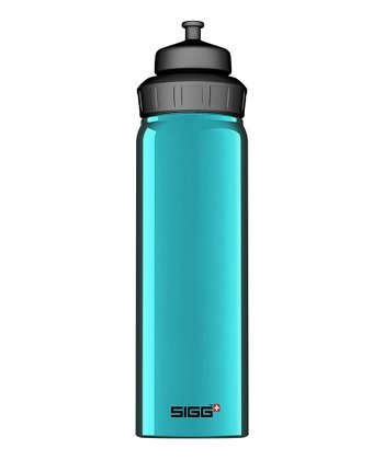Light Blue Slim Wide Mouth 25-Oz. Water Bottle