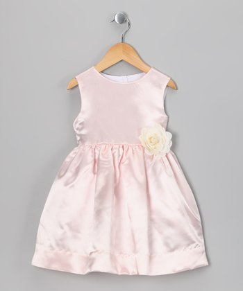 Pink Flower Dress - Infant, Toddler & Girls