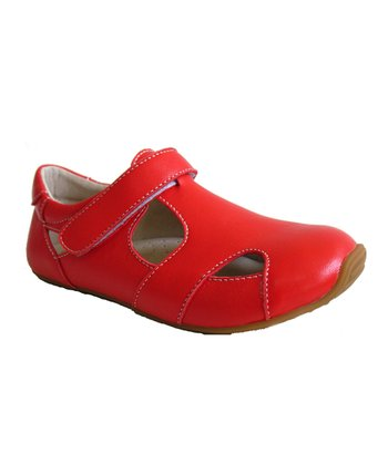 Red Junior Sunday Shoe