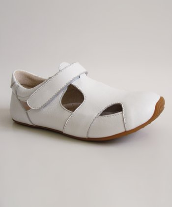 White Junior Sunday Shoe