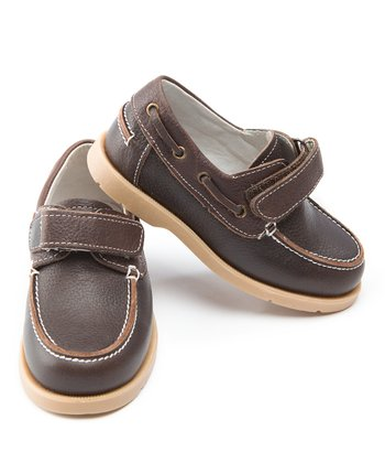 Chocolate Brown Boat Shoe