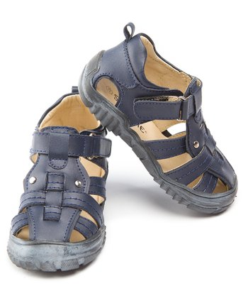 Navy Blue Cross-Country Sandal