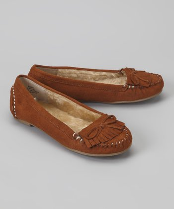 British Tan Parry Moccasin