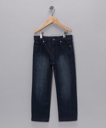 Indigo Straight-Leg Jeans - Toddler & Boys