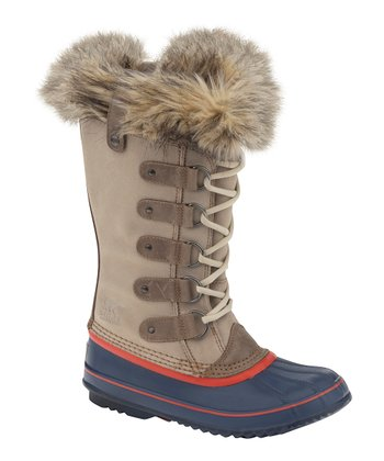 Oxford Tan & Grenadine Joan of Arctic Boot - Women