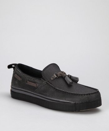 Black Sentry Tassle Loafer - Men