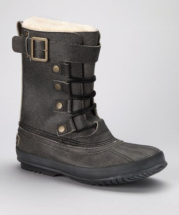 Black Langlitz Reserve Waterproof Boot - Men