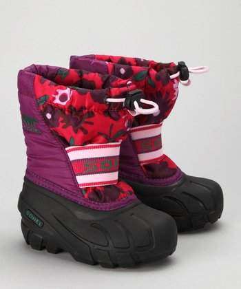 SOREL Gloxinia & Bright Rose Cub Boot - Kids