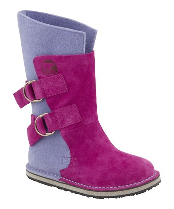 Raspberry Chipahko Felt Boot - Kids