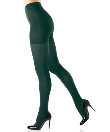 Bistro Green Tight-End Tights