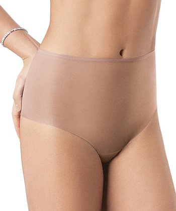 Skinny Britches® Cheeky Cut Thong - Nude