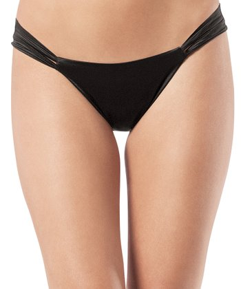 Skinny Britches® Everyday Thong - Black