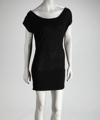 SUST Black Smokin' Disco Hemp Dress