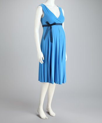 Sky Sunray Maternity Dress