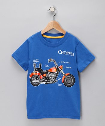 Blue 'Chopper' Tee - Infant