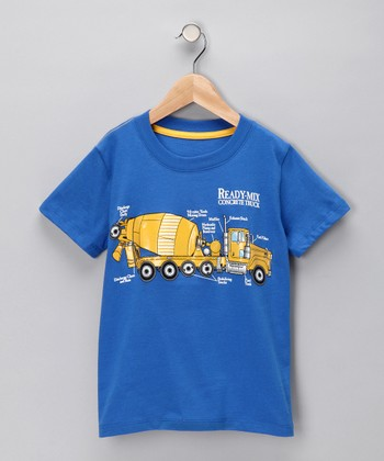 Blue 'Ready-Mix' Tee - Infant