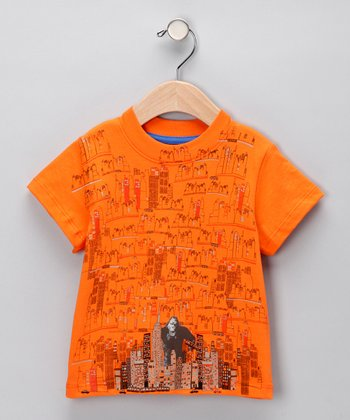 Orange King Kong Tee - Infant