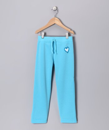 S.W.A.K. Turquoise Heart Pants - Girls