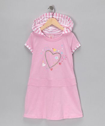 Pink Heart Dress - Toddler