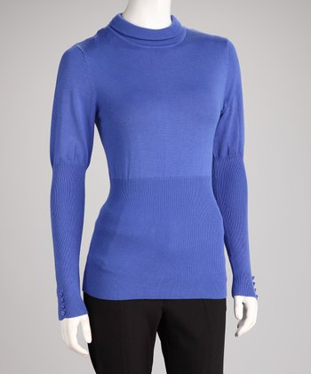 Diva Blue Turtleneck