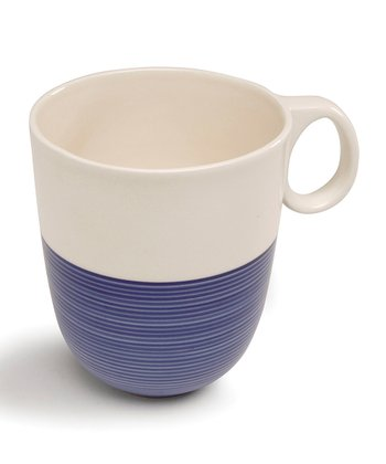 Blue & White Mug - Set of Two